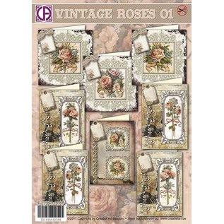 Creatief Art Vintage Rosen-01