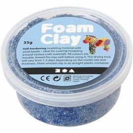 Creativ Company blauw d'argile de mousse