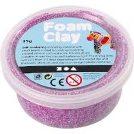 Creativ Company foam clay neon paars