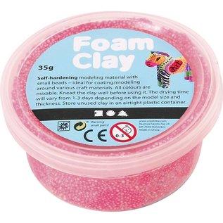 Creativ Company foam clay neon roze