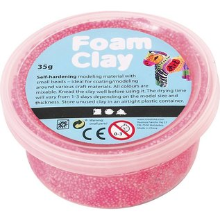 Creativ Company Schaum Ton neon pink