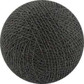 Cotton Balls Wattebausch Anthrazit
