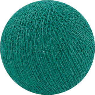 Cotton Balls Wattebausch Dunkle Aqua