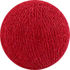 Cotton Balls Wattebausch Red