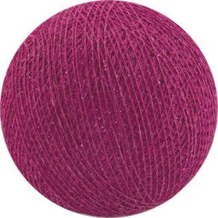 Cotton Balls Wattebausch purpurnen
