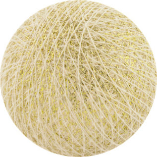 Cotton Balls Cotton Ball Wit-Goud