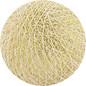 Cotton Balls Wattebausch Weiß-Gold
