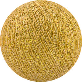 Cotton Balls Boule de coton jaune d'or