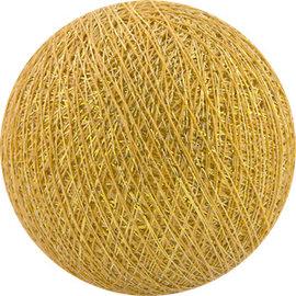 Cotton Balls Wattebausch Gelb-Gold