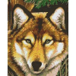 Pixel Hobby Wolf - 4 plaques