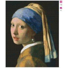 Pixel Hobby Das Mädchen mit dem Perlenohrring - 9 Einträge