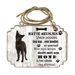 Hondenbordje: Austrailian Celpie