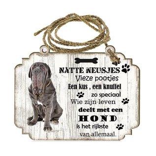 Hondenbordje: Mastino Napoletano