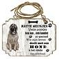 Hondenbordje: Serplanac (Joegoslavische herder)