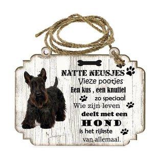 Hondenbordje: Schotse Terriër
