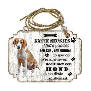 Hondenbordje: Foxhound