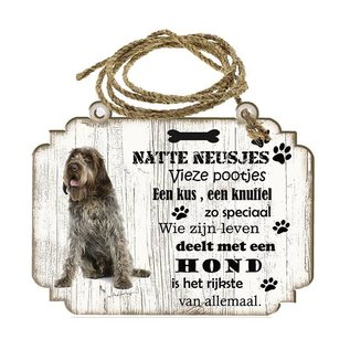 Hondenbordje: Korthals Griffon