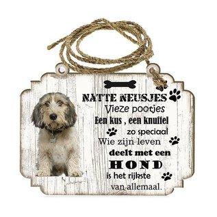Hondenbordje: Petit Basset Griffon Vendéen