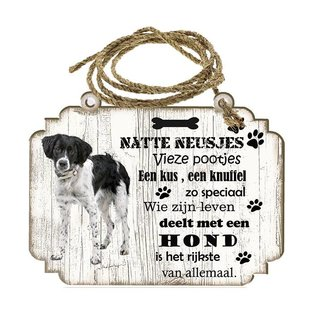 Hondenbordje: Friese Stabij