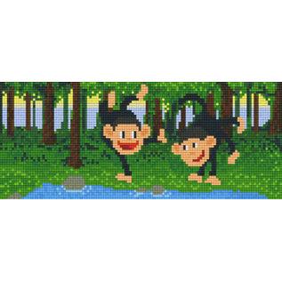 Pixel Hobby Pixelhobby Aapjes 3 Basisplaten
