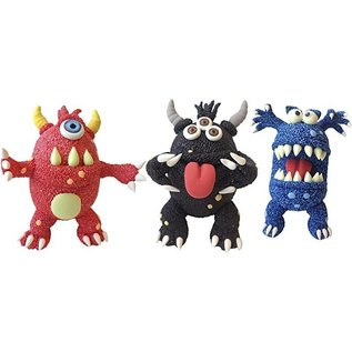 Creativ Company Set ugly monsters zwart foam clay