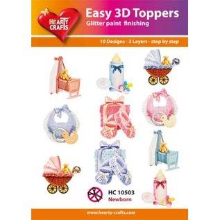 Hearty Crafts 3D-Topper Newborn