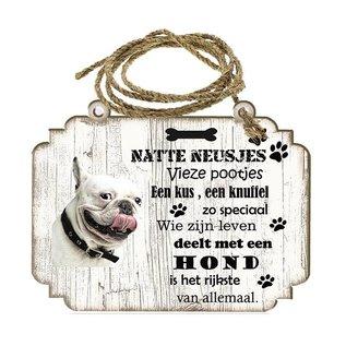 Hondenbordje: Bulldog