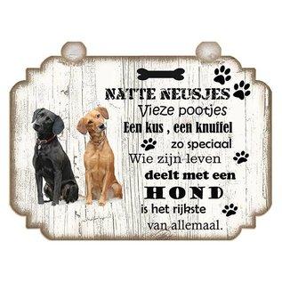 Hondenbordje: Labrador