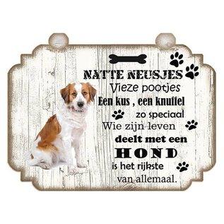 Hondenbordje: Kooiker