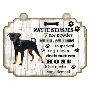Hondenbordje: Petit Brabancon