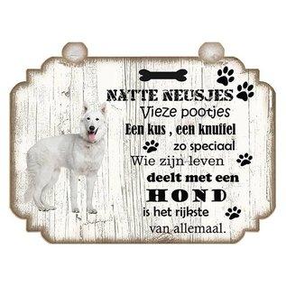 Hondenbordje: Husky