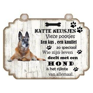 Hondenbordje: Bulldog - Copy