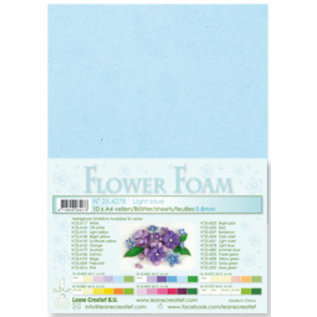 Light Blue Flower Foam