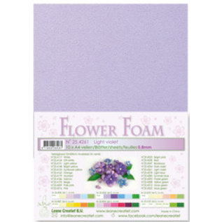 Light Violet Flower Foam
