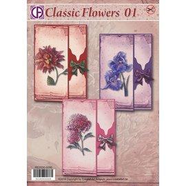 Creatief Art Klassische Blumen 01