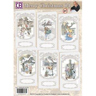 Creatief Art Frohe Weihnachten 04