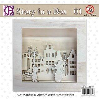 Creatief Art Histoire dans une boîte 01