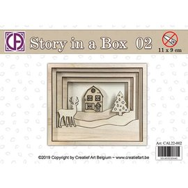 Creatief Art Geschichte in einer Box 02