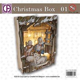 Creatief Art Boîte de Noël 01
