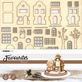 Creatief Art Village de Noël - Favoris