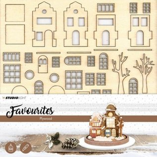 Creatief Art Weihnachtsdorf - Favoriten
