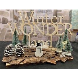 Creatief Art Winter Wonder Land