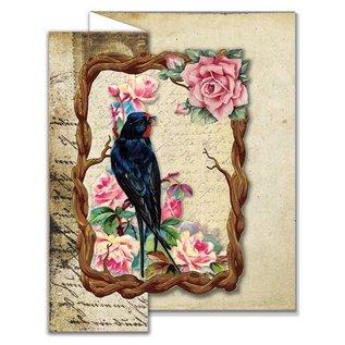 Creatief Art Oiseaux Vintage 01 - Copy