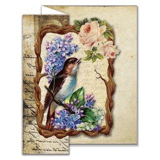 Creatief Art Vintage Birds 02