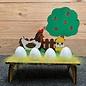 Creatief Art Eierhalter aus Holz