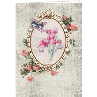 Creatief Art Blumen & Schmetterlinge 02