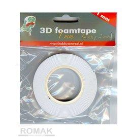 Hobby Centraal 3D Schaumstoffband Hobbyzentrum 1mm