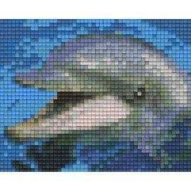 Pixel Hobby Pixelhobby 1 Basisplaat Dolfijn