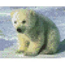 Pixel Hobby Plaque de base Pixelhobby 1 Polar Bear