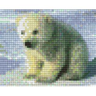 Pixel Hobby Pixelhobby 1 Basisplaat Poolbeer